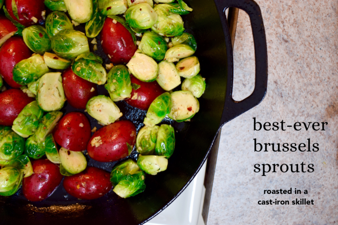 best cast iron roasted brussels sprouts